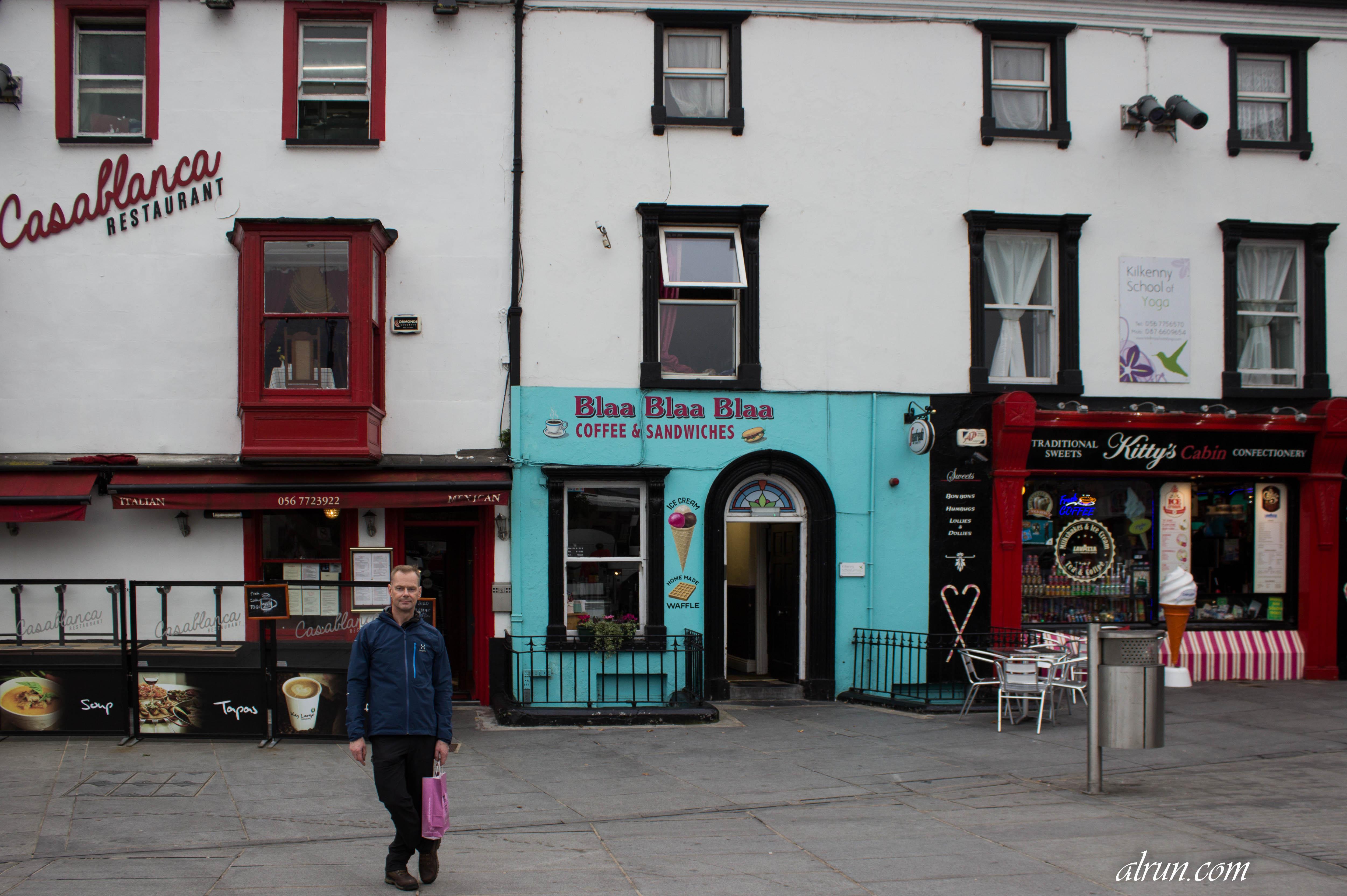 Með Fúsa á Írlandi – 1.kafli. Gististaðirnir