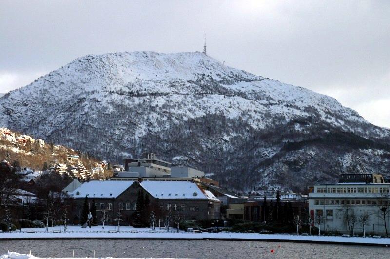 Fjallganga í Bergen